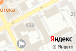 Схема проезда до компании Телефон доверия в Перми