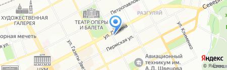 Городской риэлторский центр на карте Перми