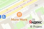 Схема проезда до компании Аксон Плюс в Перми
