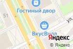 Схема проезда до компании Мagic fingers в Перми