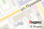 Схема проезда до компании Промышленная целлюлоза в Перми
