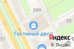 Схема проезда до компании Кит-flowers в Перми
