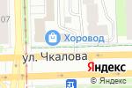 Схема проезда до компании Kill Hunger в Перми
