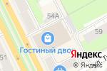 Схема проезда до компании МАНИФЕСТУМ в Перми