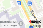 Схема проезда до компании Билайн в Перми