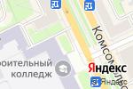 Схема проезда до компании Евробукет в Перми