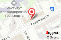 Схема проезда до компании Мобилеон в Перми