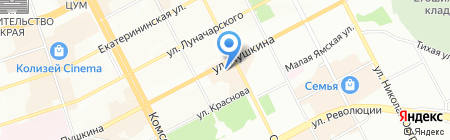 Инна-тур на карте Перми