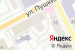 Схема проезда до компании Право и закон в Перми