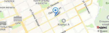 Золотой песок на карте Перми