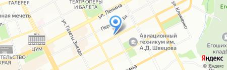 Банкомат АКБ Связь-Банк на карте Перми