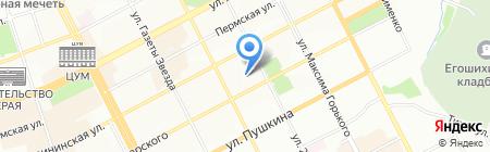 Дом на Вознесенской на карте Перми