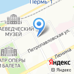 People на карте Перми