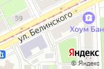 Схема проезда до компании Sельдерей в Перми