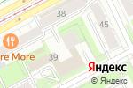 Схема проезда до компании ПРИС в Перми