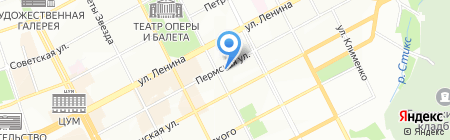 Meteora на карте Перми