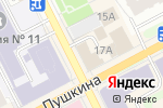 Схема проезда до компании Ассистент в Перми