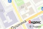 Схема проезда до компании 1001 в Перми