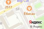 Схема проезда до компании Экспресс-Тур в Перми