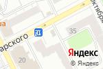 Схема проезда до компании Дария в Перми