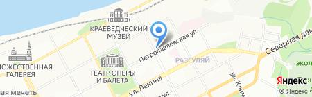 Imade room на карте Перми
