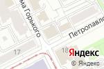 Схема проезда до компании Электронные системы контроля в Перми
