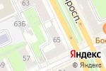 Схема проезда до компании Гласиз в Перми