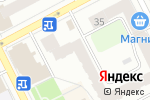 Схема проезда до компании Пушкина в Перми