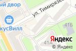Схема проезда до компании Воображуля в Перми