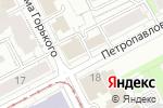 Схема проезда до компании Ладушки оладушки в Перми