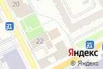 Схема проезда до компании Бизнес-отель Сибирия в Перми