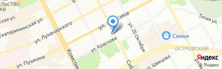 One Гоги на карте Перми