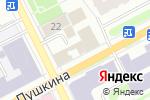 Схема проезда до компании Цветочная лавка в Перми