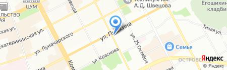 Банкомат Банк Москвы на карте Перми