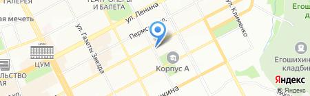 Интуиция на карте Перми
