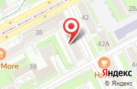 Схема проезда до компании Uniqstore в Перми