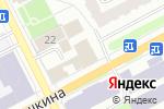 Схема проезда до компании Gallery в Перми