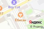 Схема проезда до компании Свой сервис в Перми