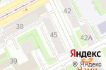 Схема проезда до компании Мирта в Перми