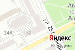 Схема проезда до компании Пермские строители в Перми