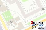 Схема проезда до компании L`anza в Перми