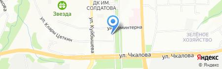 ЗАМОК на карте Перми