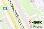 Схема проезда до компании 585 GOLD в Перми