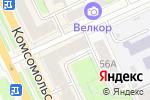 Схема проезда до компании Магазин детского трикотажа в Перми