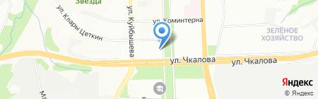 Тихий компрос на карте Перми