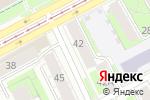 Схема проезда до компании Деловой квартал в Перми