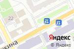 Схема проезда до компании Coffee Time в Перми
