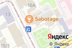 Схема проезда до компании Магазин тканей и фурнитуры в Перми