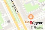 Схема проезда до компании Amadeo в Перми