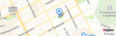 Bliss на карте Перми